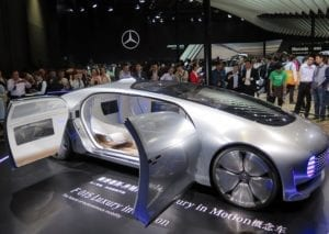Mercedes F 015 Luxury Concept Car