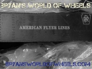 1940's S Scale American Flyer Train Set