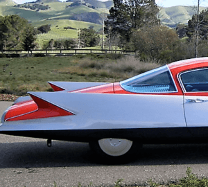 1955 Chrysler Ghia Streamline X Gilda Concept Car