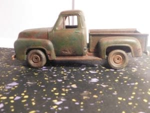 Weathered 1955 Ford Model Truck