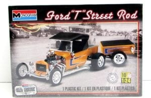 Ford T Street Rod 1/24 Scale Model Kit