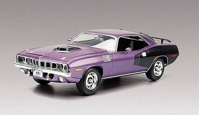 71 Plum Crazy Hemi Cuda Model Car Kit