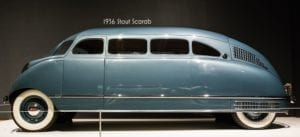 Cool 1930's Concept Car – Stout Scarab