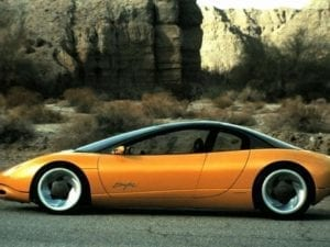 1990 Pontiac Sunfire Concept Car