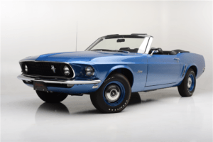 Rare 1969 Mustang 428 Cobra Jet 4 Speed Convertible
