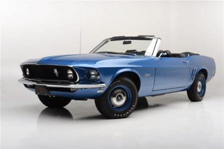 1969 Mustang 428 Cobra Jet 4 Speed Convertible