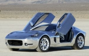 Awesomely Fast Shelby GR-1 Concept Car