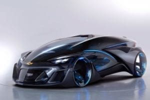 Chevrolet FNR Self-Driving Concept Car