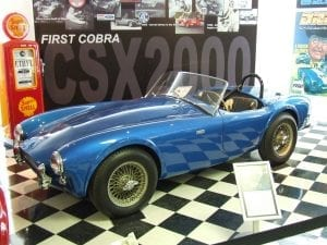 First Shelby Cobra Ever Built Sells At Auction