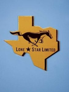 1967 Lone Star Limited Mustang