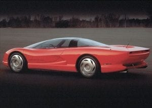 1986 Corvette Indy Concept Car