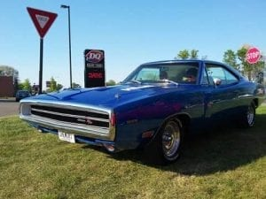 1970 Dodge Charger RT HEMI front